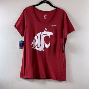 NIKE WOMEN'S WASHINGTON STATE TSHIRT SIZE L